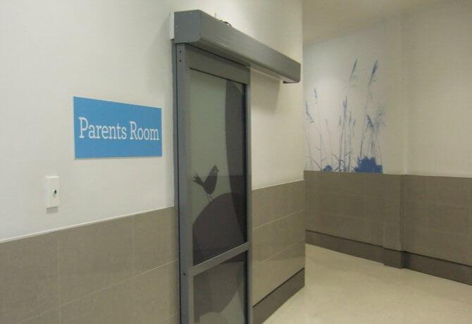 ニュージーランドの授乳室(Parents room)