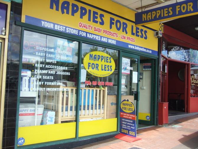 赤ちゃんグッズ Nappy for less