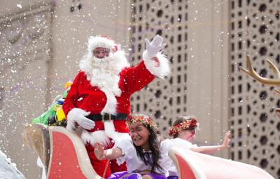 オークランド サンタパレード