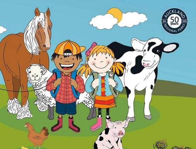 こどもニュージーランド Ambury Farm Day