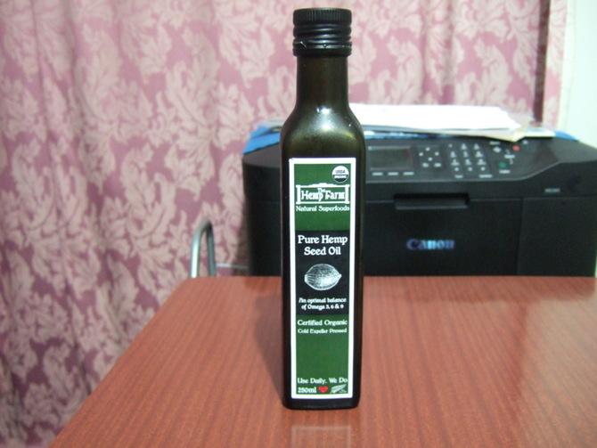 ヘンプシードオイル 健康食品