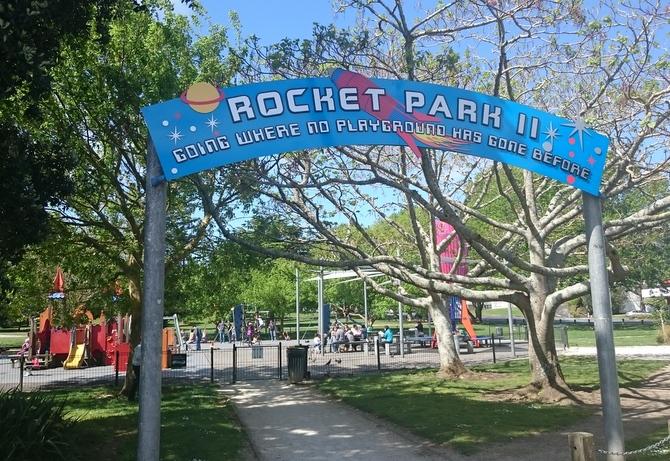 オークランド公園 ロケットパーク