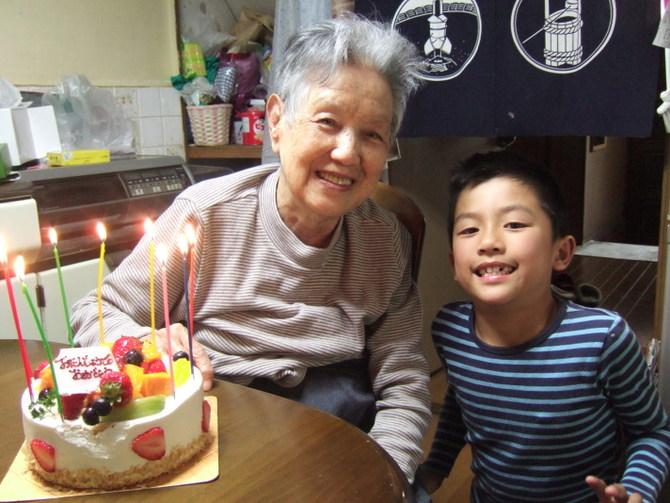 ニュージーランド 一時帰国 祖父母