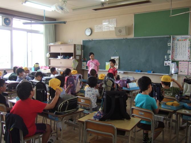 日本の小学校入学体験