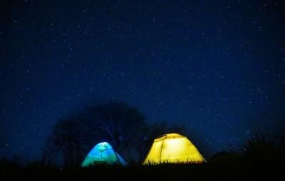 キャンプ 星空 こどもニュージーランド