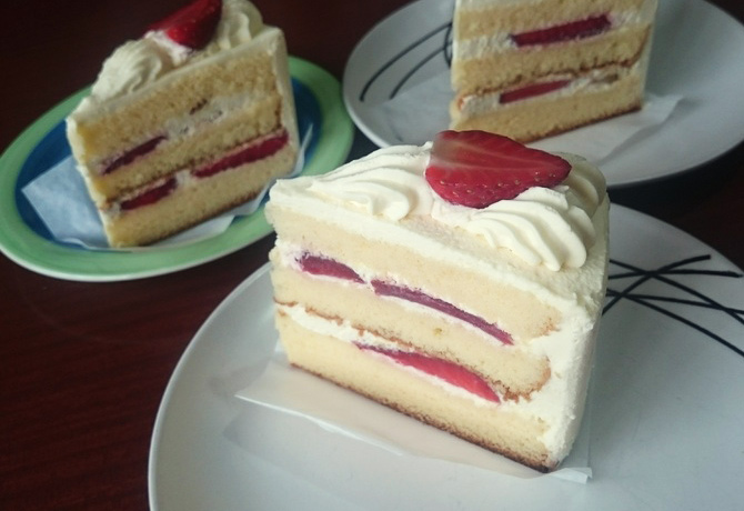 ニュージーランド 日本のケーキ Avondale