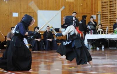 こどもニュージーランド 剣道試合 習い事