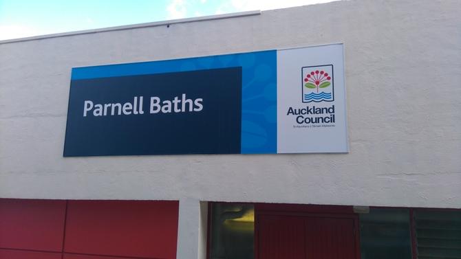 Parnell Baths パーネルバス プール