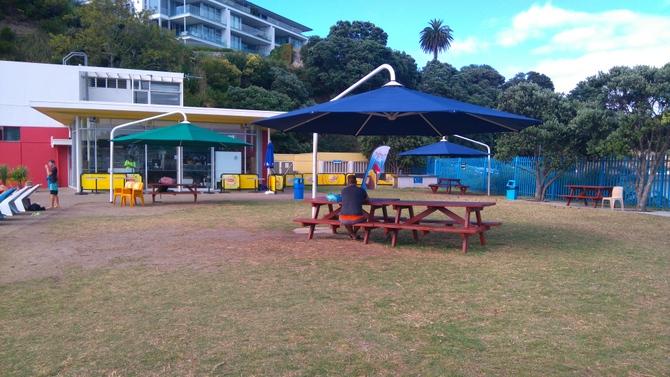 こどもニュージーランド 屋外プール
