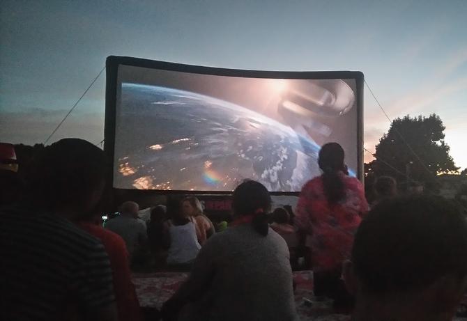 映画 Movies in Parks イベント