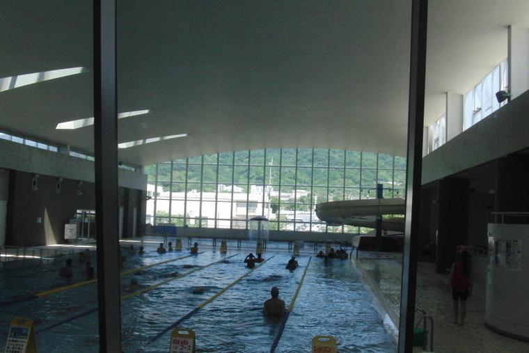 一時帰国 大阪 ジムのプール