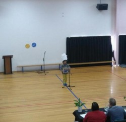 ニュージーランド 小学校 スピーチコンテスト