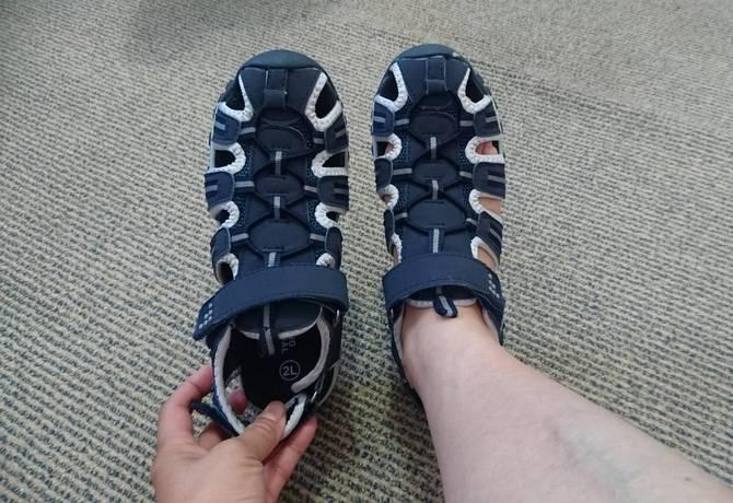 子供の靴 靴のサイズ オークランド