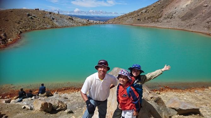 トンガリロ登山 トランピング 9時間歩き