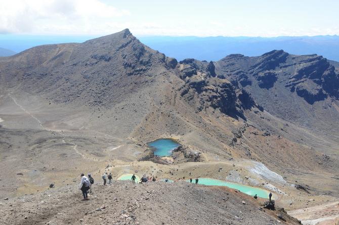 tongariro 噴火 トランピング