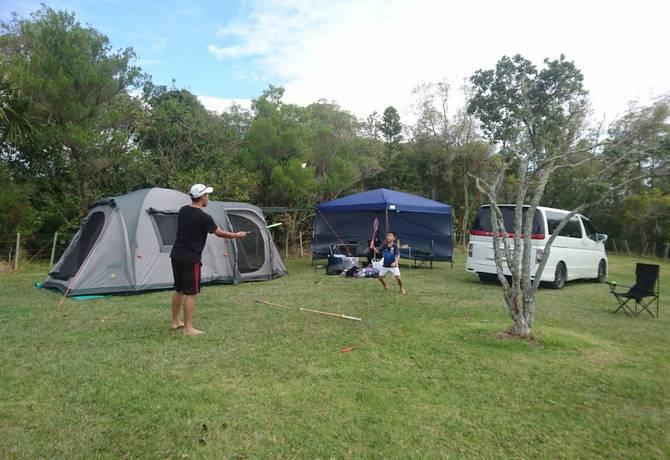 環境保全省のキャンプ場 ODC ニュージーランド