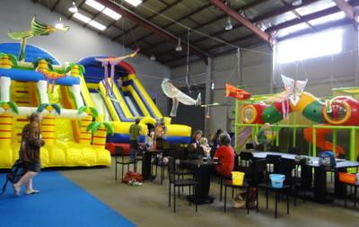 Q Rabbit indoor playland