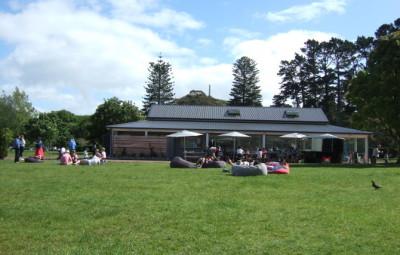 Cornwall park 子連れカフェ